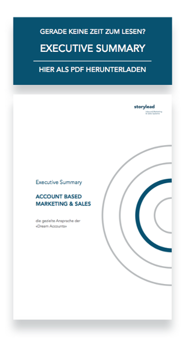 Account Based Marketing Sales Storylead